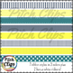 Tara Pack - Clipart (Clip Art) 60 Papers & 23 Ribbons- 4 c