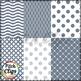 Tara Digital Papers - Grey Digital Papers - 18 styles