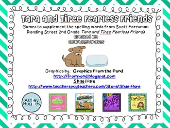 Tara and Tiree Spelling and Vocabulary Games