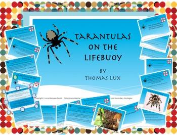 """Poetry: Complete; no prep!  """"Tarantulas on a Lifebuoy"""" by"""