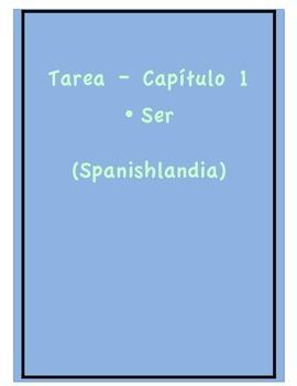 Tarea - Exprésate 1 Capítulo 1 - Ser (Homework/Classwork)