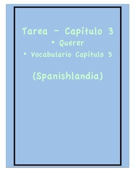 Tarea - Exprésate 1 Capítulo 3 - Querer (Homework/Classwork)