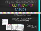 Target Adhesive Label Multiplication Desk Pocket