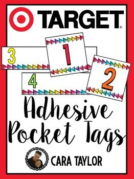 Target Adhesive Pocket Tags