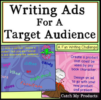 Target Audience Power Point (make creative advertisement f