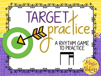 Target Practice!  A Rhythm Game to Practice Decoding {ti-t