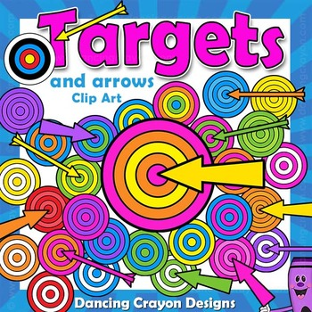 Targets and Arrows Clip Art