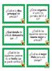 Tarjetas de Trabajo~Clasificando las Preguntas de Textos I
