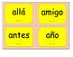 Tarjetas de palabras de uso frecuente