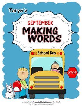 Making Words for September