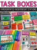 Task Boxes for Independent Stations (Starter Pack)
