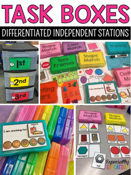 Task Boxes for Independent Stations (Starter Pack)