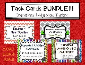 Task Card BUNDLE!! {Operations & Algebraic Thinking}