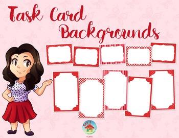 Task Card Frames [Valentine's Day Theme]
