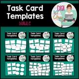 Task Card Templates clipart - BUNDLE