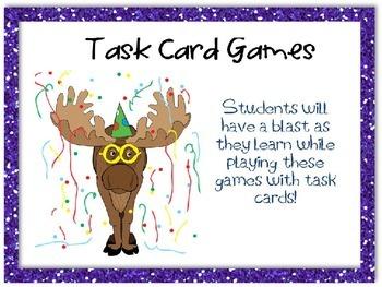 Task Card Games