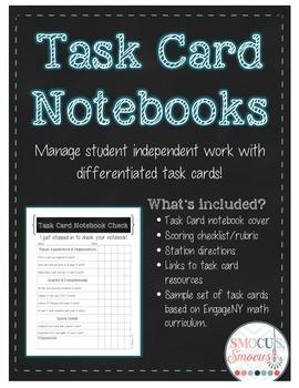 Task Card Notebooks