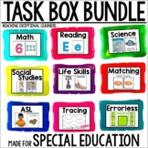 Task Card Set GROWING BUNDLE- Special Education