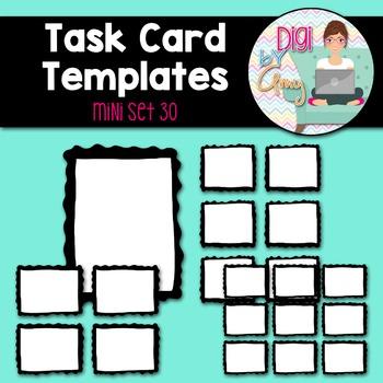 Task Card Templates clipart - MINI SET 30