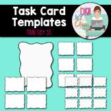Task Card Templates clipart - MINI SET 35