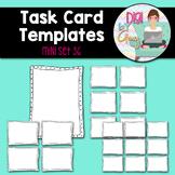 Task Card Templates clipart - MINI SET 36