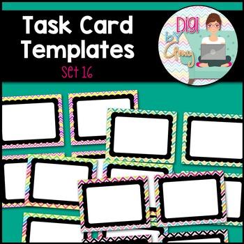 Task Card Templates clipart - SET 16