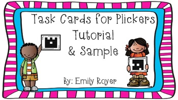 Task Card for Plickers Tutorial & Sample