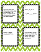 Task Cards Adding, Subtracting, Comparing, and Expanded Fo