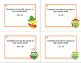 Task Cards Addition and Subtraction of Integers- Grades 6-