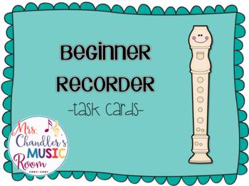 Task Cards: Beginner Recorder
