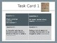 Task Cards For Elements Of Literature