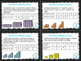 4th Grade Math Task Cards- Geometric Tower Patterns; CCSS