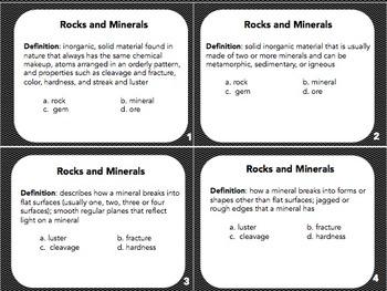 Task Cards Glencoe Science Grade 7 Chapter 3