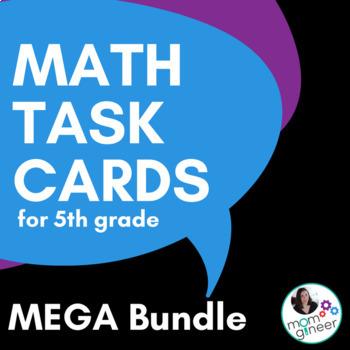 Task Cards for 5th Grade BUNDLE