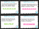 4th Grade Math Task Cards- Number Patterns; CCSS 4.OA.C.5