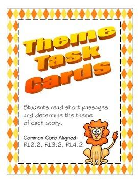 Task Cards - Theme