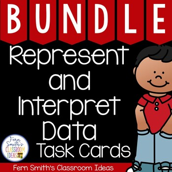 Third Grade Math Unit Two Task Cards Bundle without Common Core