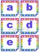 Task Cards - Editable Labels - Alphabet - Numbers - Frames