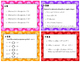 Task Cards for Absolute Value, Opposite +/- Integers, and