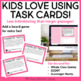 Task Cards for Characters for 3rd - 5th Grade