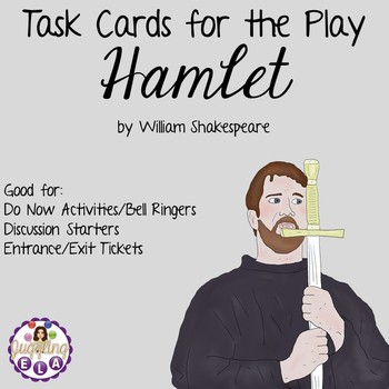 Task Cards for Hamlet by William Shakespeare