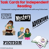 Task Cards for Independent Reading: Fiction Set