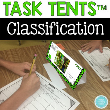Task Tents™: Classification