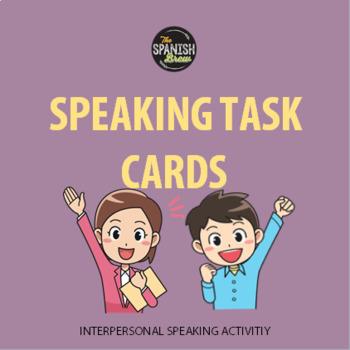 Task cards- La casa quehaceres / house chores (Realidades