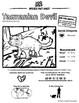 Tasmanian Devil -- 10 Resources -- Coloring Pages, Reading