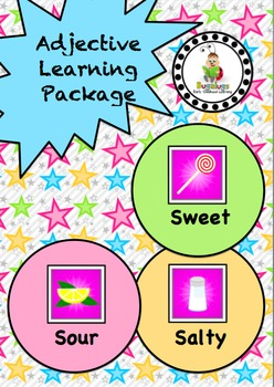 Taste Adjective / Concept Learning Package inc. Sweet, Sal