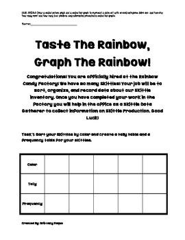 Taste The Rainbow, Graph The Rainbow
