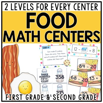 Differentiated Math Centers for 1st & 2nd Grade