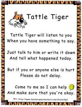 Tattle Tiger Behavior Management Set