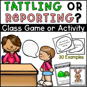 Tattle or Report Cards